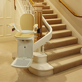 stairlift for curved stairs